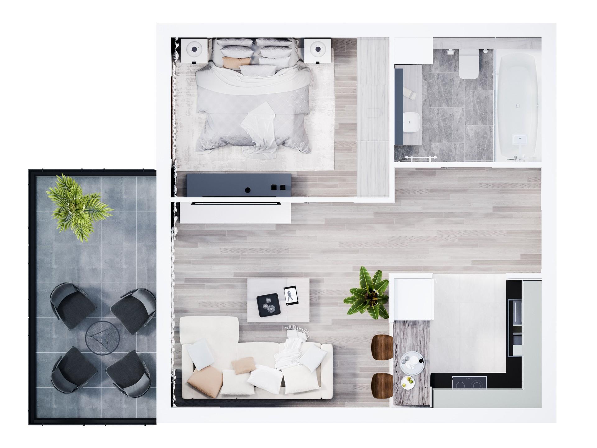 Mieszkanie I-3