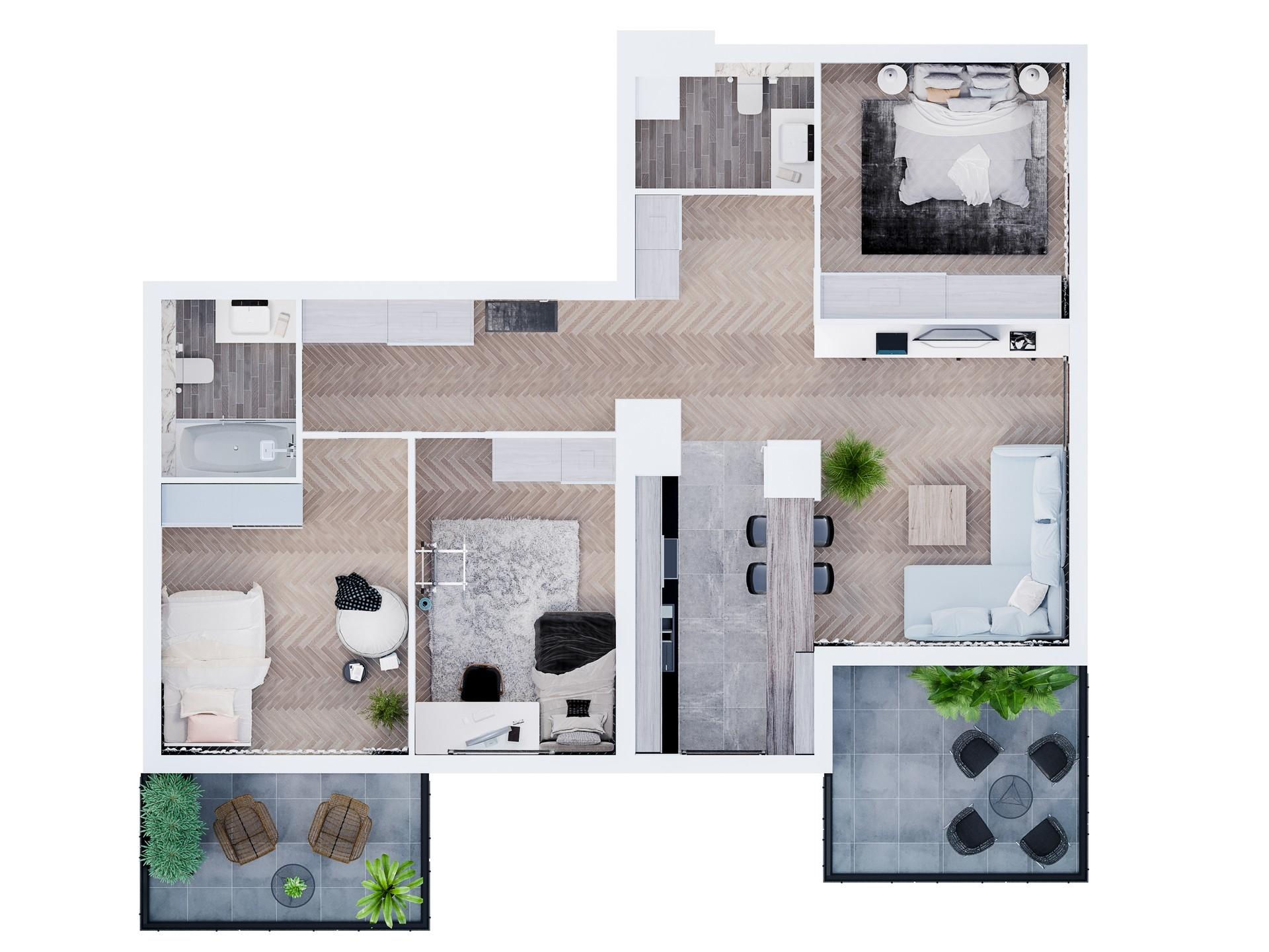 Mieszkanie L-15