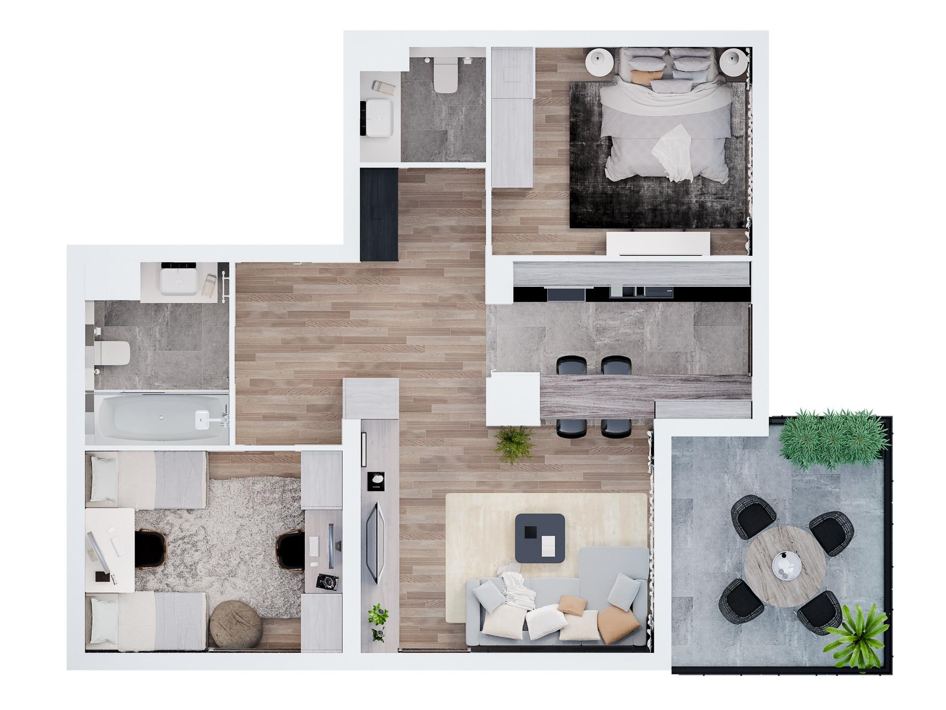 Mieszkanie M-7
